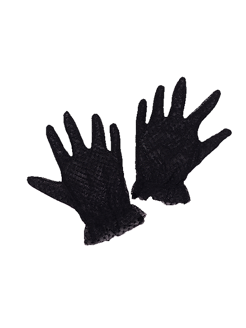 Mini Audrey gloves negros