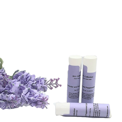 Lavender and Peppermint Lip Balm (3 pk)