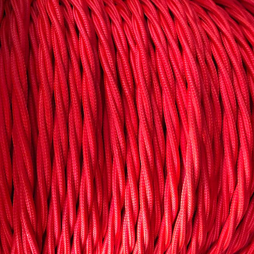 Red Twisted 3 Core .5mm Cable £4.95 Per MT