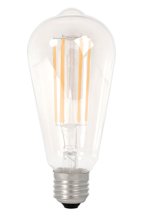 4w ES Squirrel Cage Clear LED dimmable