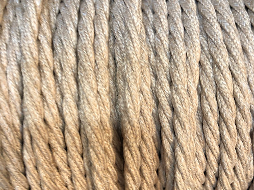 Linen Twisted  Fabric 3 Core Cable £4.95 Per MT