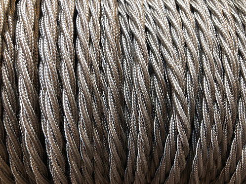 Elephant Grey Twisted 3 Core Cable £4.95 Per MT