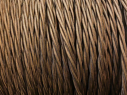 Brown Twisted 3 Core .5mm Cable £4.95 Per MT