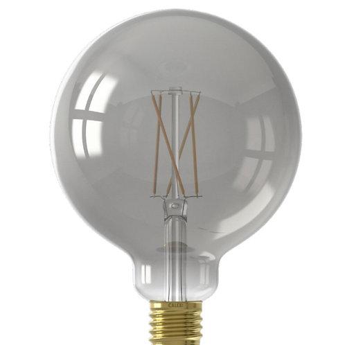7.5 Watt ES 125mm Smoked filament Globe LED Smart