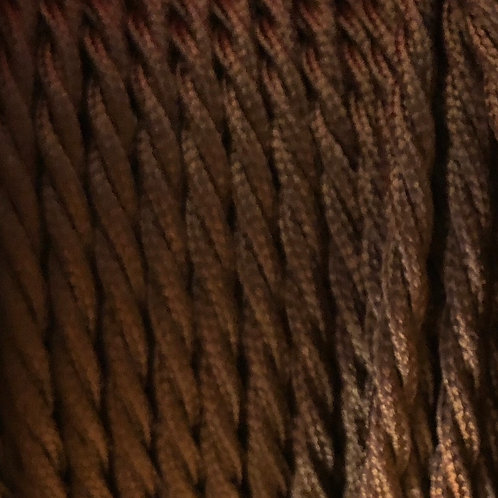 Bronze Twisted 3 Core .5mm Cable £4.95 Per MT