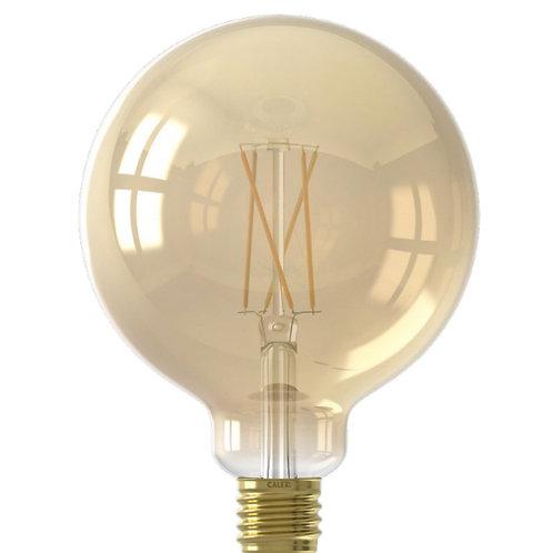 7.5 Watt ES 125mm Gold filament Globe LED Smart