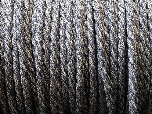 Blue denim twisted 3 core cable £4.95 Per MT
