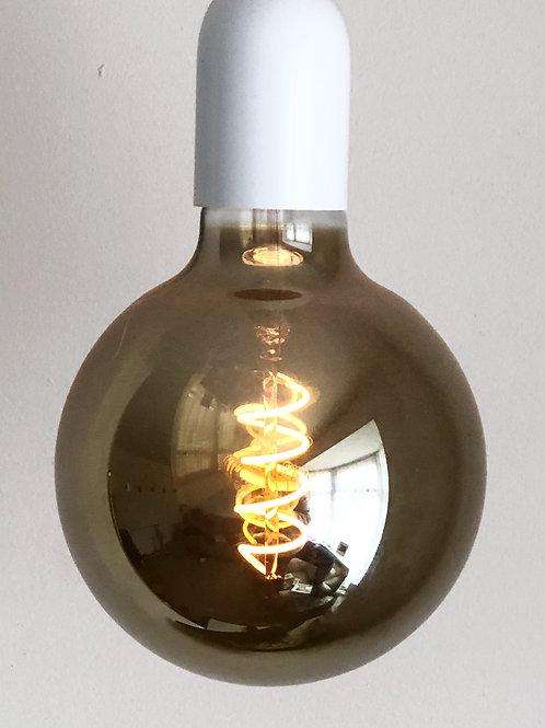 4w ES E27 G125 Globe Titanium LED