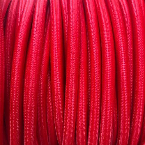 Red Round 3 Core .5mm cable £4.95 Per MT