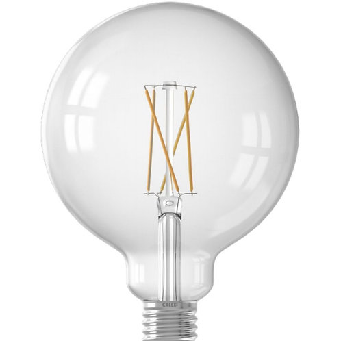 7.5 Watt ES 125mm Clear filament Globe LED Smart