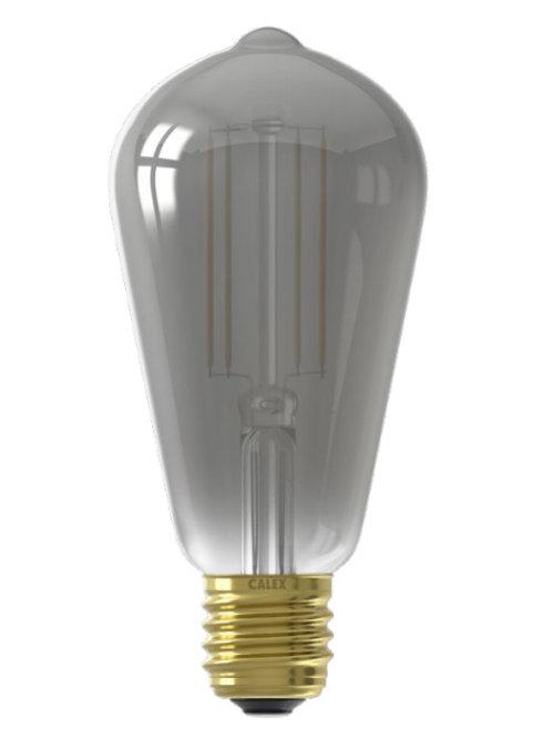 7w ES Squirrel Cage Smoked Smart lamp