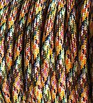 Muilt colour round cable
