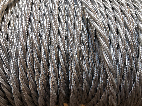 Silver Twisted 3 Core .5mm Cable £4.95 Per MT
