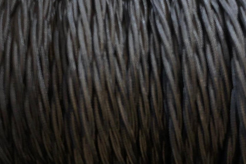 Black Twisted 3 Core .5mm Cable £4.95 Per MT