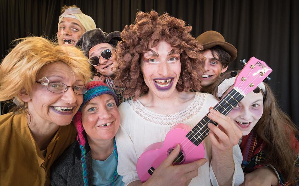 Acting School, Bouffon, Clown, Ensemble, Theatre Making, Manchester
