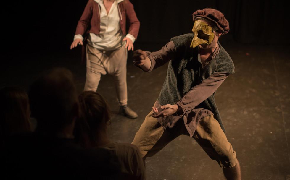 Acting School, Mask Work, Ensemble, Manchester
