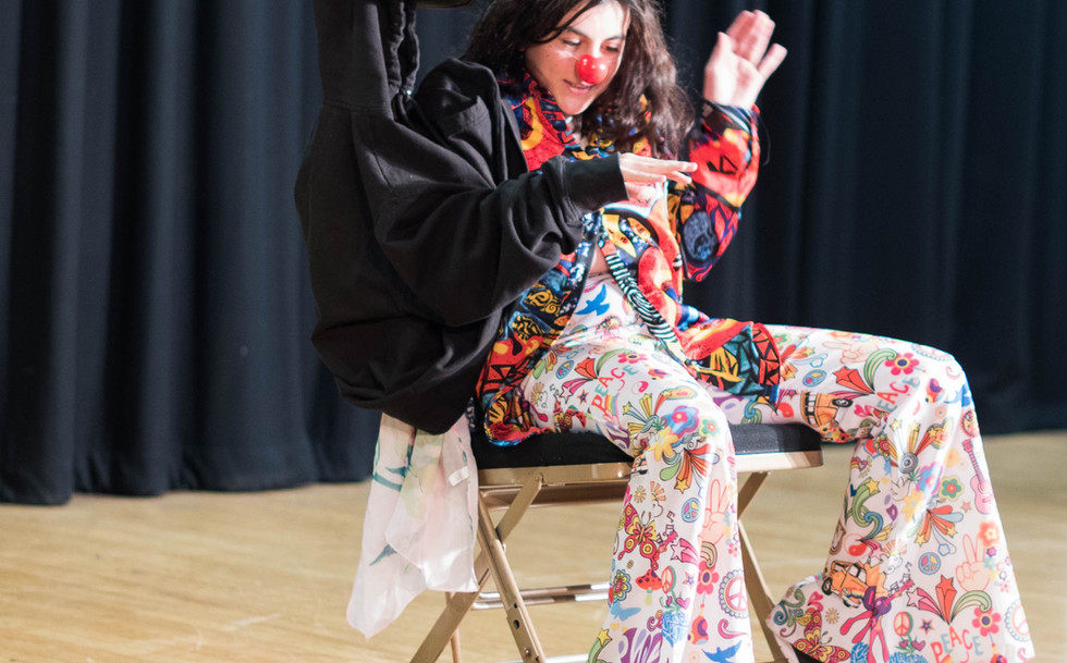 The Performers' Playground Clown, Acting school, Devising