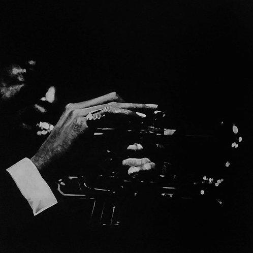 Trumpet Man 24X18