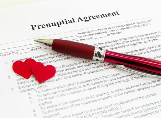 Prenuptial Agreements: Losing the negative stigma