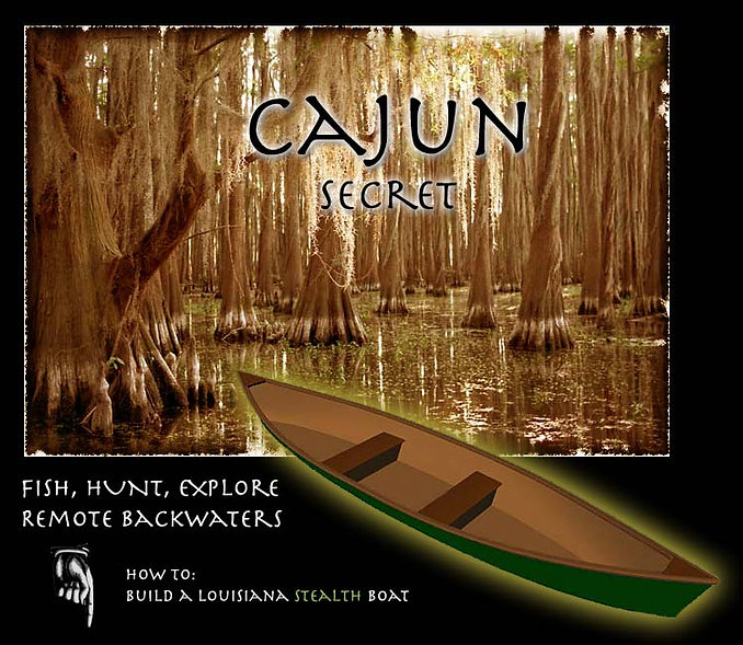 Cajun Secret Pirogue Plans
