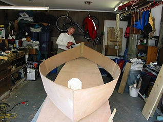 Easy construction with Cajun Secret pirogue plans