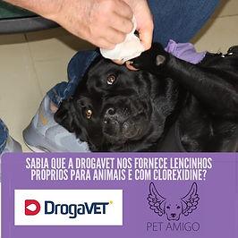 🐾🐾 A _drogavet é agora a fornecedora o