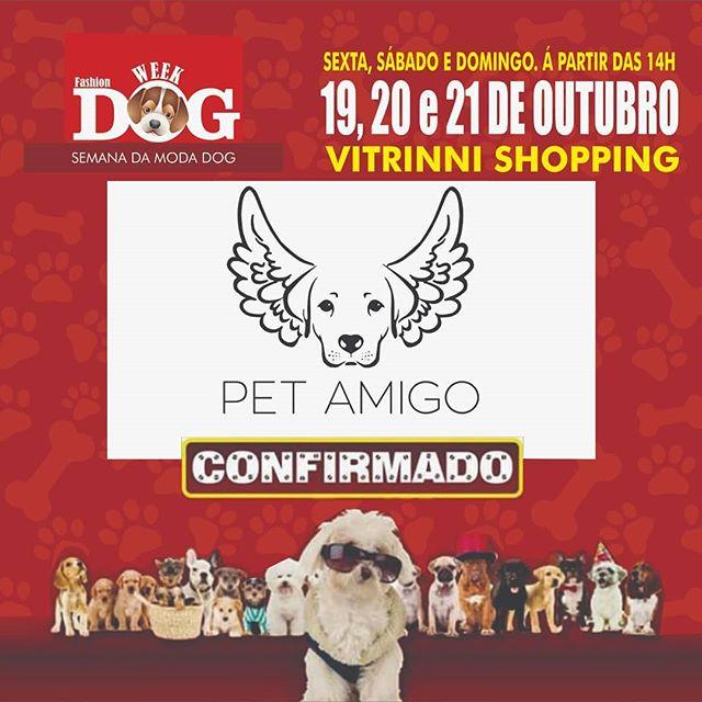 A Pet Amigo vai participar do evento _fa