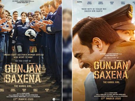 Gunjan Saxena; The Kargil Girl Review: Jhanvi and Pankaj Tripathi shine in this high-soaring biopic.