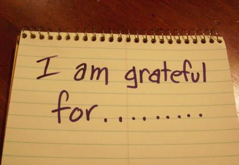 An Attitude of Gratitude!
