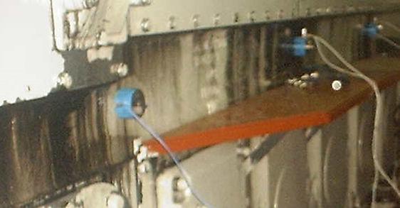 sensors on on engine block