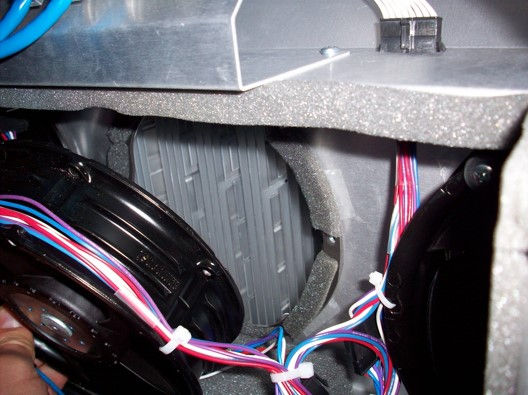 Cooling Fins Behind Fan, Fan Mounted With Isolation Problem
