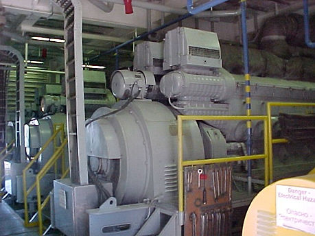 ​Engine and generator Set of an Oil Drilling Vessel