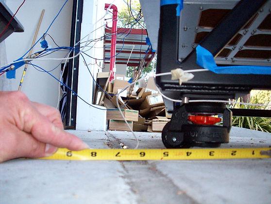 hard disk rack vibration test rolling over bumps