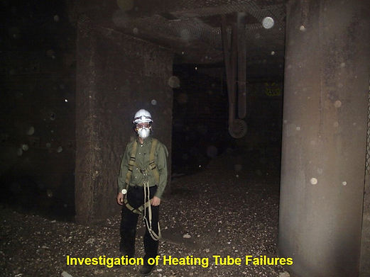 examining tube heating failures