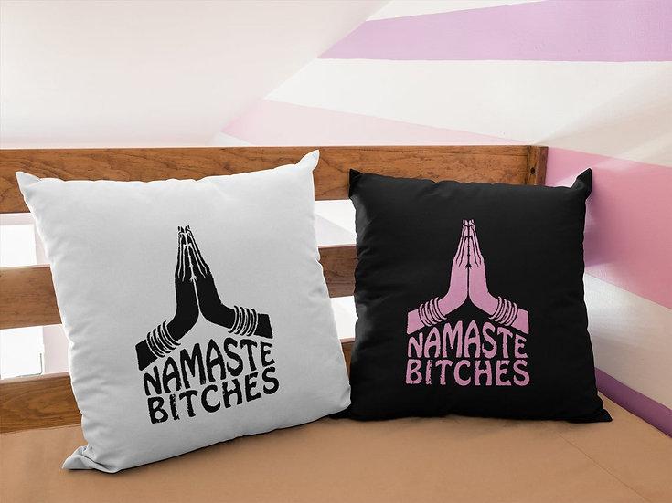 Vegan Yoga Cushion - Namaste Bitches