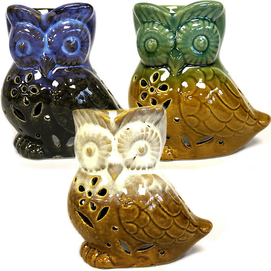Classic Rustic Owl Oil Burners