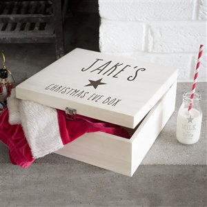 Personalised Kids Star Christmas Eve Box