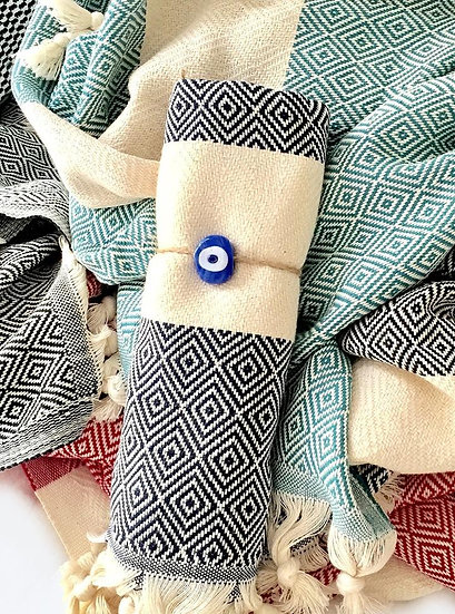 El Patito Contemporary Series - 100% Cotton Turkish Towels - Hand Towels