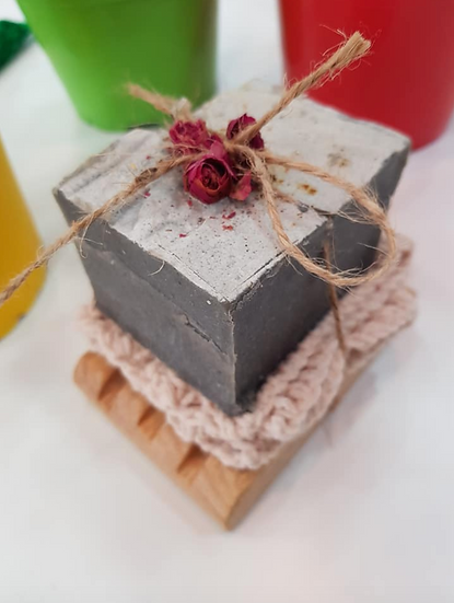 Syrian Natural Charcoal Soap