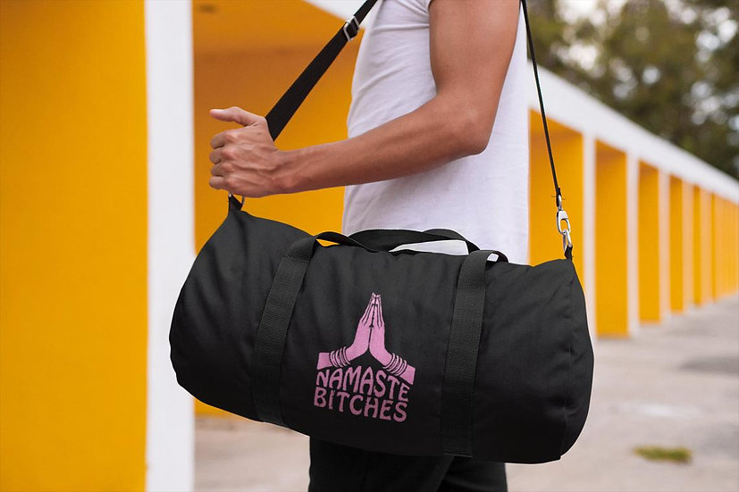 Vegan Yoga/Gym Bag - Namaste Bitches