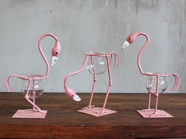 Hydroponic Home Decor Flamingo Pots