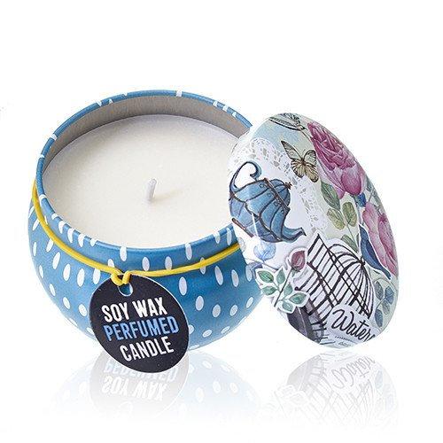 Soy Wax Art Tin Candle - Parisian Weekend