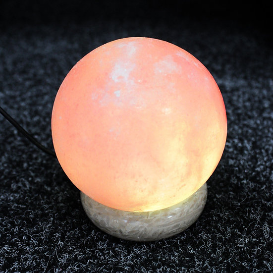 Quality USB Ball Salt Lamp - 8 cm