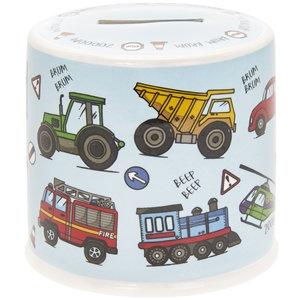 Ceramic Money Box - Vehicles