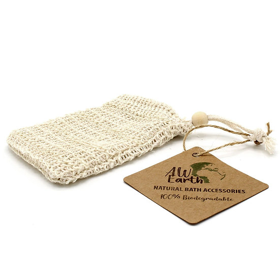 Nature Soap Bag - Washed Jute