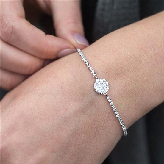 Handmade Friendship Disk Bracelet