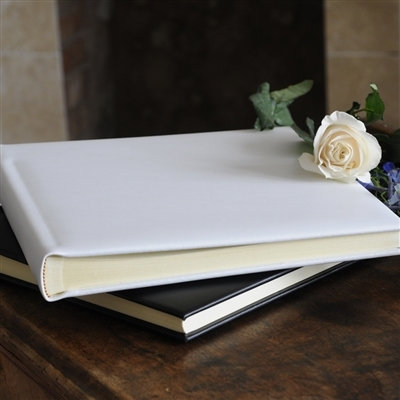 Handmade Luxurious Ivory Leather Album - 30 Pages