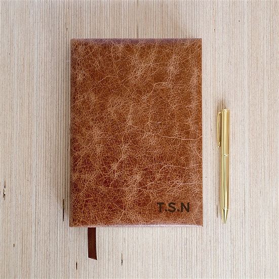 Personalised Handmade Genuine Leather Journal