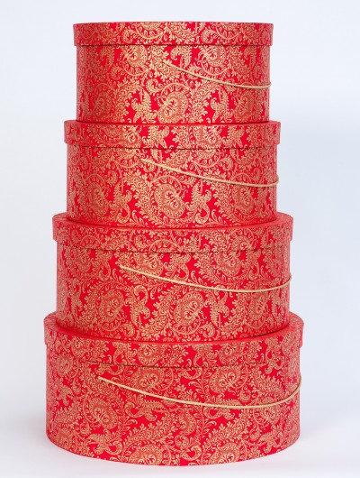Red Splendour Hat Box Nest