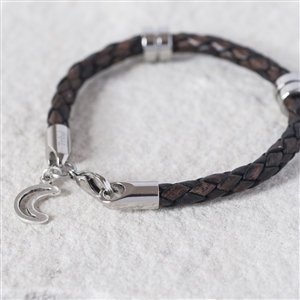 Handmade Moon & Back Wristband